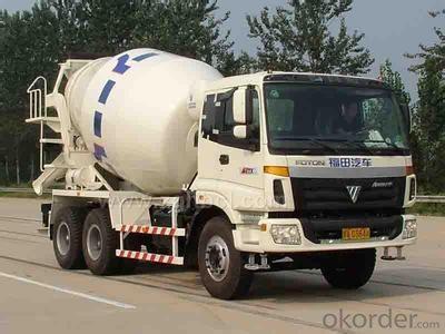 10 cubic meters of concrete mixer truck mixer