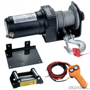 Zhongmei brand 4x4 winch 6000lbs electric winch