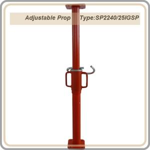 Export Adjustable Props /painted surface steel prop/ red color prop 2.2-4M