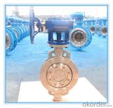 Wafer Type PTFE seated  Butterfly Valve with Handle wheel/Lever operation