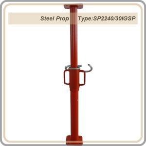 Export Steel Props/red color prop 2.2-4M/thickness 3.0mm