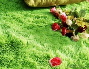 Carpet Polyester Twist Yarn Printed Shaggy Carpet, Fantastic Looking Carpets and Rugs