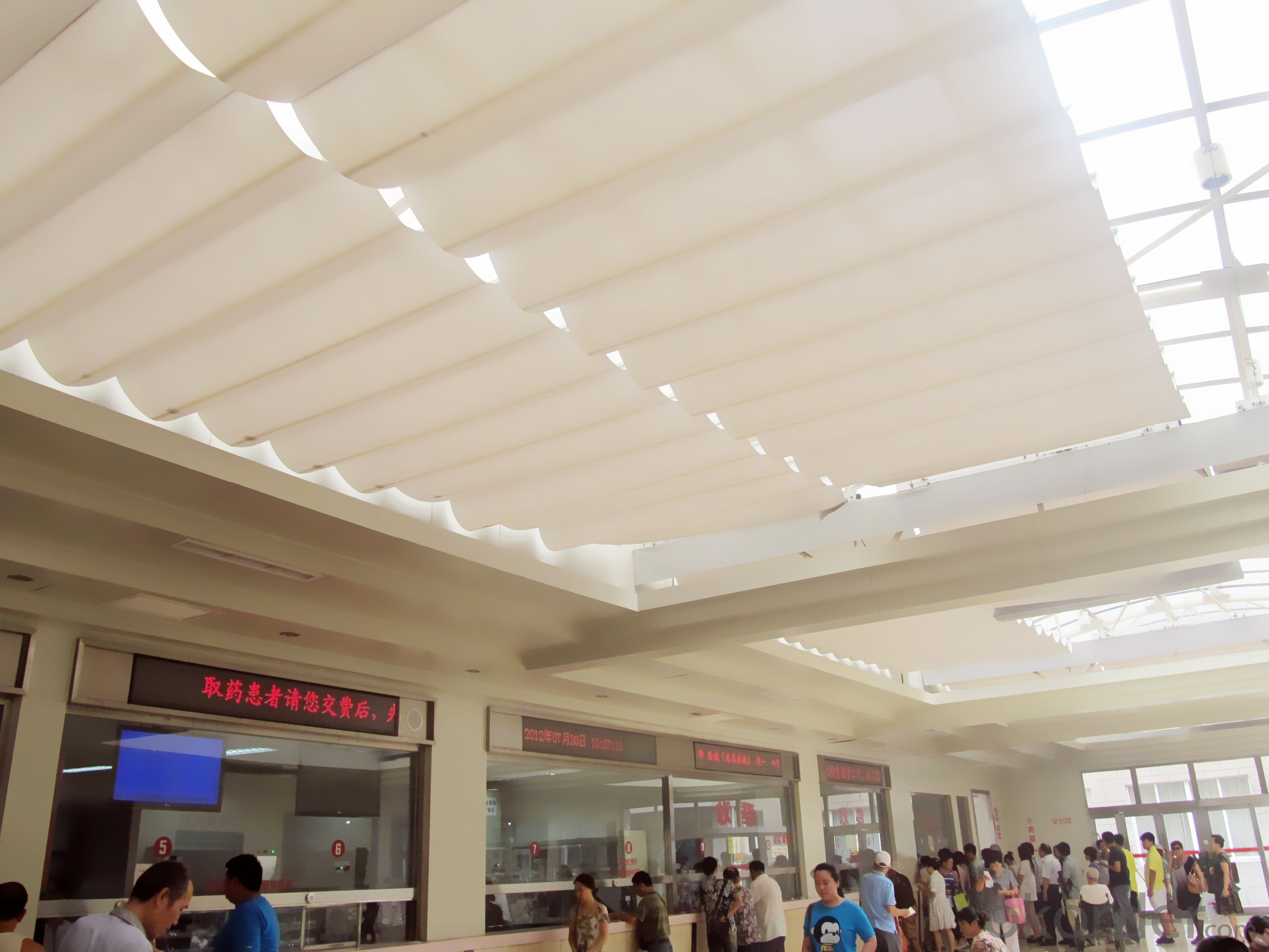Buy Automatic Skylight Blind For Canopy Shade Price Size