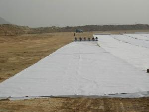 PET Woven Geotextile Used for River Engineering