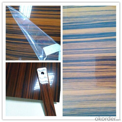 PVC Wood Grain Decorative and Matter Surface Film HJC009-4