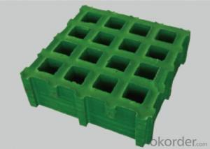 FRP grating high durable corrosion in the cesspit