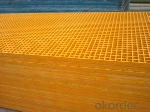 insulation FRP grating corrosion resistence high strength SGS ISO9001 certificate