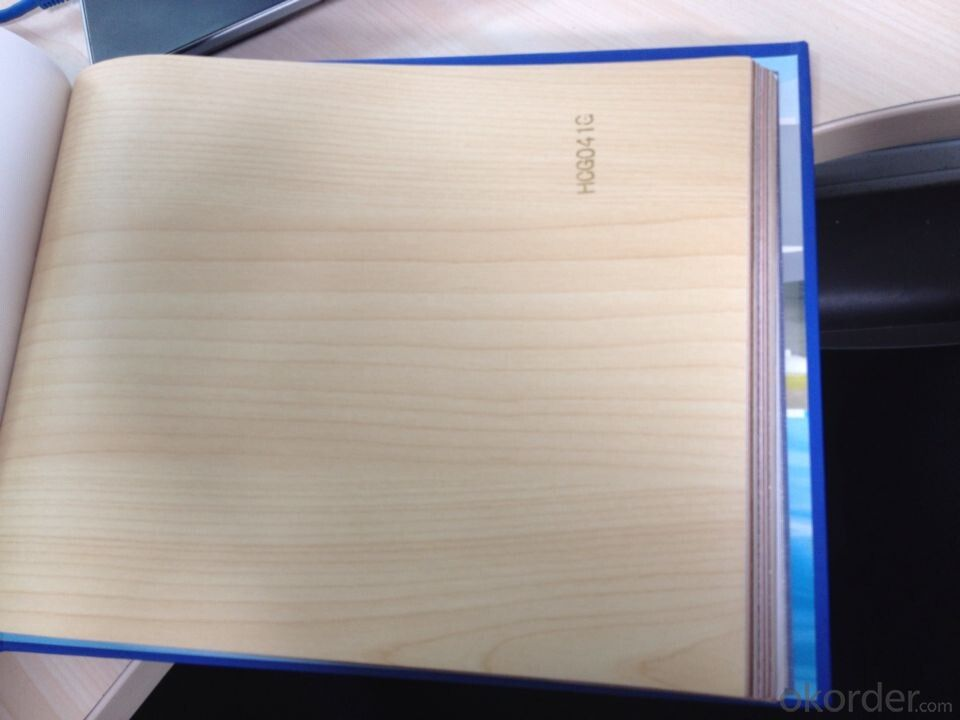 PVC Wood Grain Decorative and Matter Surface Film HCG0410