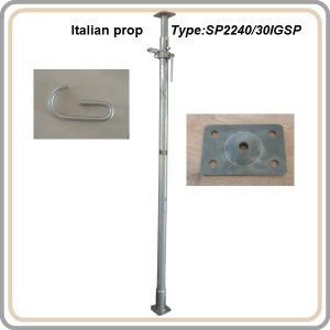 Italian prop / telescopic steel prop 2.2-4M