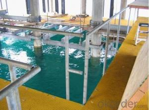 high strengh duable anti-corrosion pultruded fiberglass frp grp grating