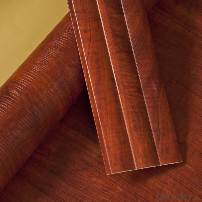 PVC Wood Grain Decorative and Matter Surface Film 0106