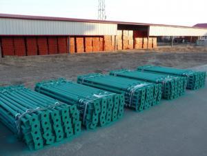 Export Scaffold props / telescopic steel prop / blue color prop 2.2-4M/thickness 3.0mm