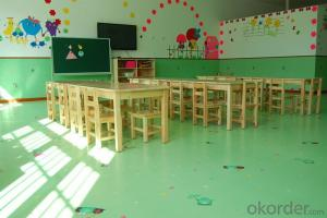 pvc flooring for children room with cartoon room inspire kids' talent