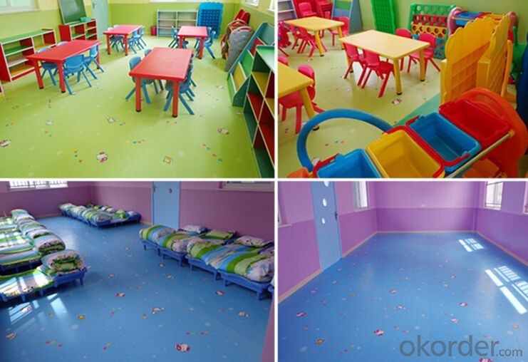 cheap high quality pvc flooring for child