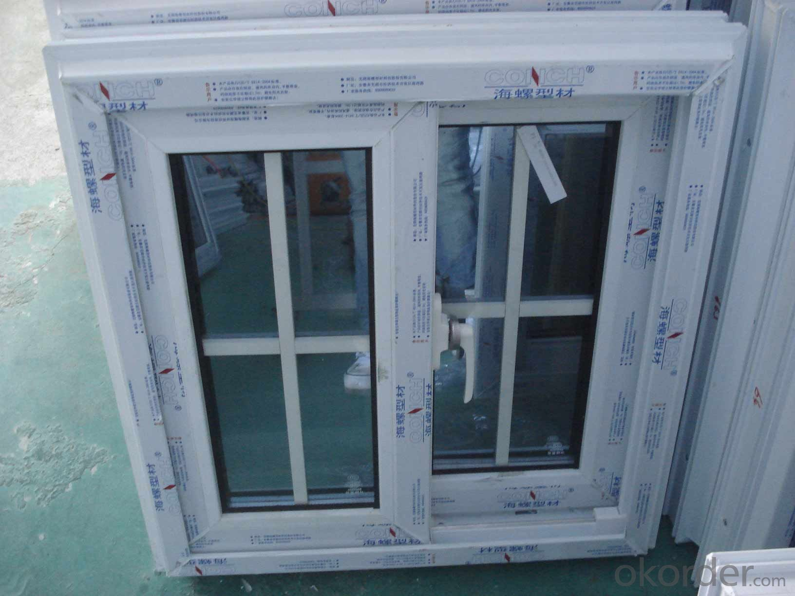 Buy Pvc Upvc Window And Door With Double Or Triplex Glass