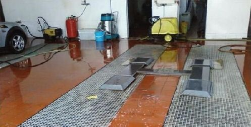 Buy Fiber Reinforce Plastic Grating For Carwash Floor PriceSize - Fiber flooring prices