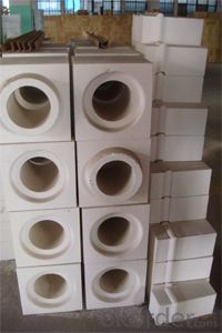 Molten Silica Brick Used in the Glass Furnace