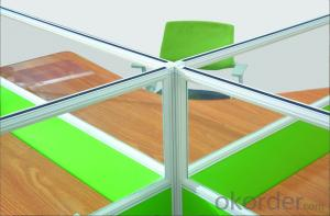 Office Table/Desk Hight Quality Wood MDF Melamine/Glass CN688 S