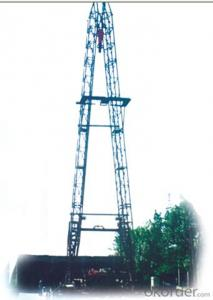 whole-lifting type derrick bigger working area