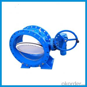 JIS /API/BS EN593 Standard Rubber Seat Butterfly Valve With
