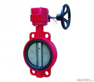 Fire Wafer Butterfly Valve DN25-DN1200