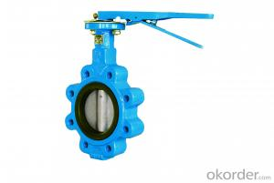 Lug Type Wafer Butterfly Valve DN40-DN1200