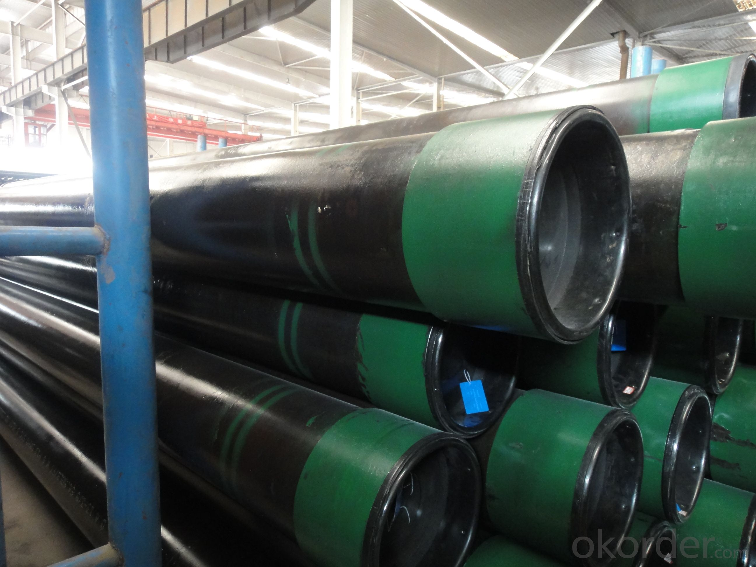 API Spec 5CT J55 K55 N80 Casing pipe seamless steel pipe for Use as Oil Casing and Tubing for well