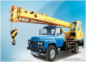 QY8B.5 TRUCK CRANE, More excellent performance