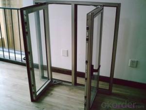 Aluminum Window  with Beautiful Style Double Glass and Triple Pane Factory