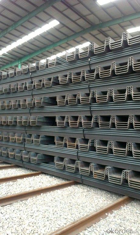 Buy U Steel Sheet Pile 400 170 15 5mm Export Steel Sheet