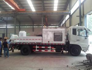 LHBC80 High output diesel engine truck mounted concrete pum