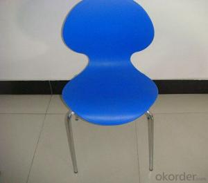 Plastic Chair for Outdoor Cafe Shop and Fast Food Snack Bar Use