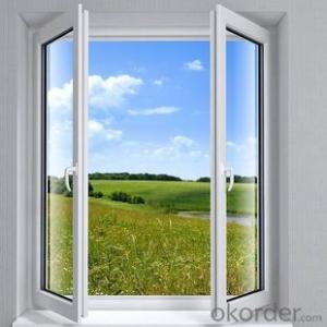 Aluminum Window with Beautiful Style Double Glass and Triple Pane 2015Hot Sale