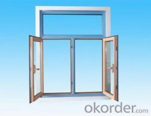 Aluminum Window  with Double Glass Triple Pane and Beautiful Style