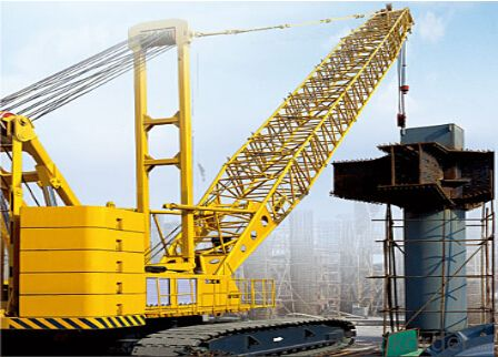 CRAWLER CRANE QUY280, good performance and quality