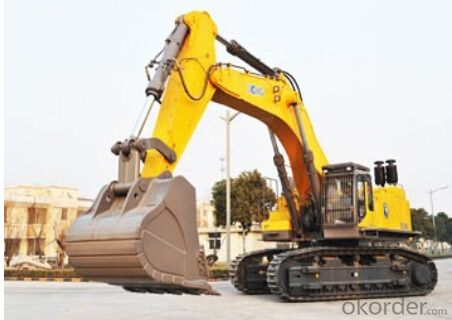 the best Excavating machinery, Excavators XE900C