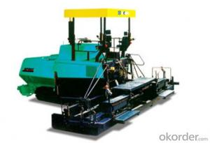 RP602/RP802 multi-functional paver,Power transmission technique: high-efficient and powerful