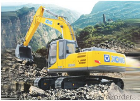 the best Excavating machinery Excavators XE265C