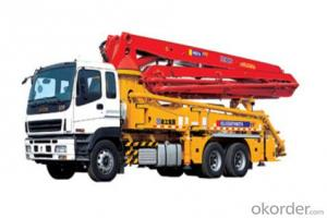 concrete pump HB37A,high technology and good performance