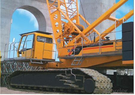 crawler crane XGC130, best quality and good price