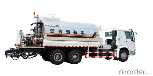 gent asphalt distributor XZJ5250GLpermeable layer, underlayer sealing, and cohesive layer