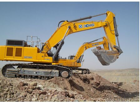 Excavators XE700C,the best Excavating machinery