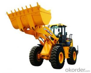 wheel loader LW500F,Strong adaptability,Excellent full bucket coefficient