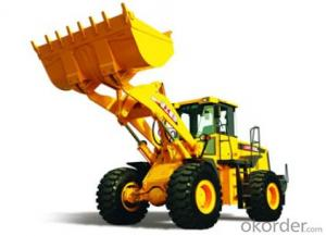 wheel loader LW500K,Strong structure and High efficiency