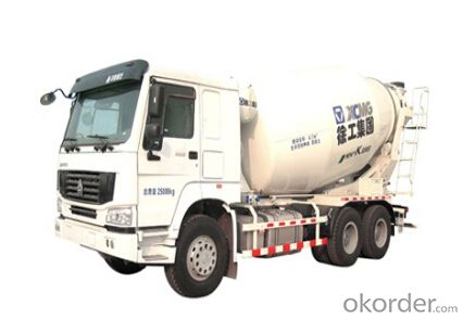 concrete transportation G08ZZR,Rotational speed: 0~14r/min