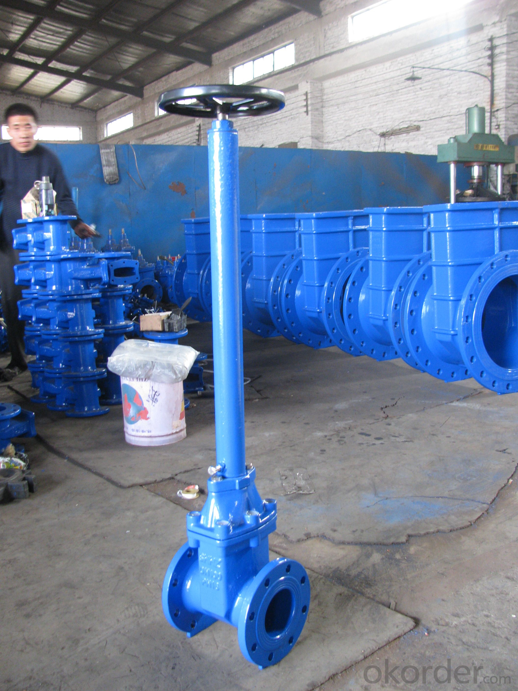 2014 water /oil/gas casting steel rising stem gate valve