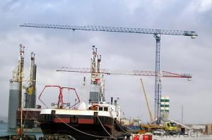 COMANSAJIE Topless Tower crane for project