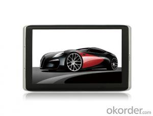 5-inch GPS Navigation System with 800x480 pixels Resolution and Support 3G