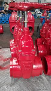 Cast Steel Flanged Pneumatic Gate Valves