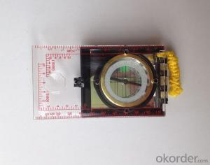 Rugged Mapor Ruler Mini-Compass DC45-6A for Surveying